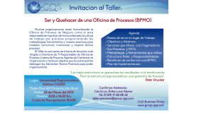 Invitacion Taller